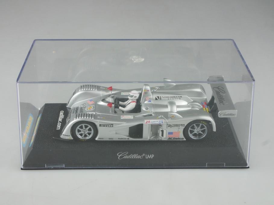 Scalextric 1/32 Slotcar Cadillac Nortstar LMP Racer Lagorce mit Box 515746