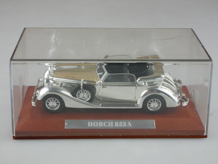 Atlas 1/43 Silver Edition Horch 853 A Cabriolet 1938 mit Box 515774