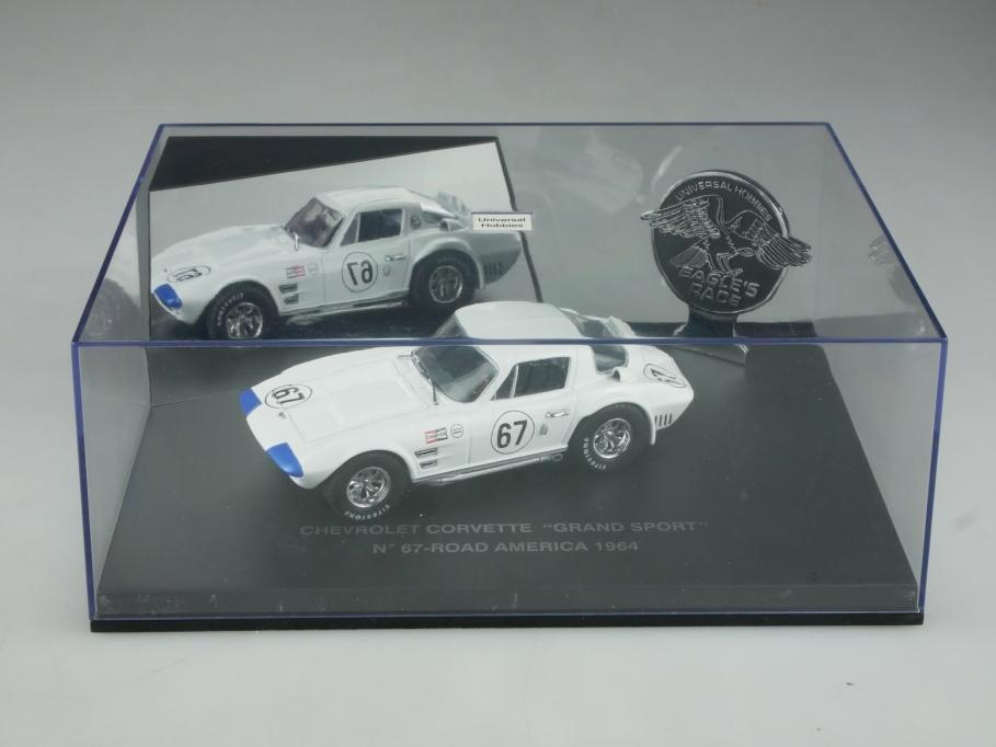 Universal Hobbies 1/43 Chevrolet Corvette Grand Sport 1964 Road America  515795