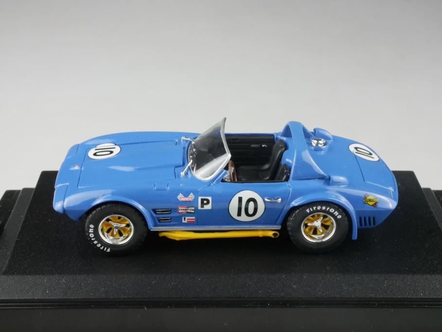 Testors 1/43 Chevrolet Corvette Grand Sport Roadster 1965 ohne Box 515796