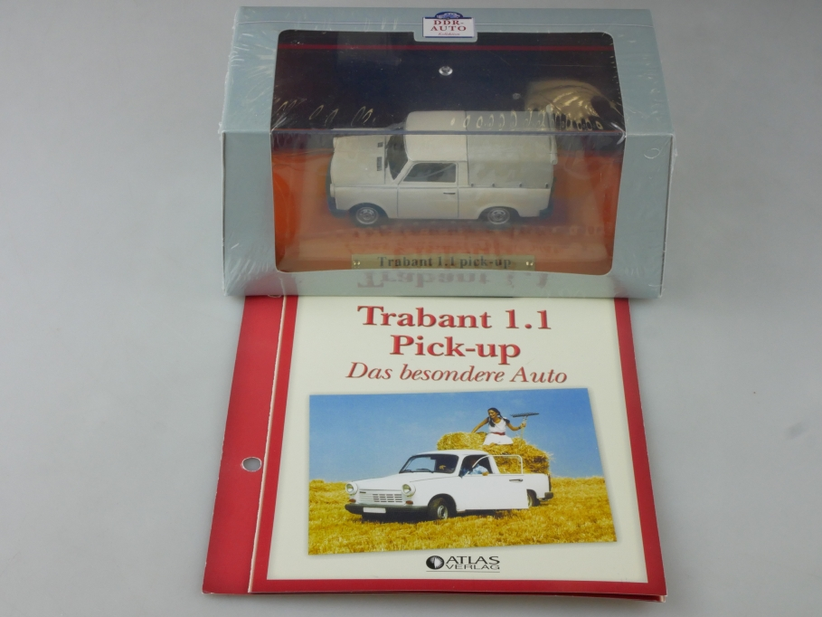 Atlas Ixo 1/43 Sachsenring Trabant 1,1 Pick-up DDR mit Box 515816