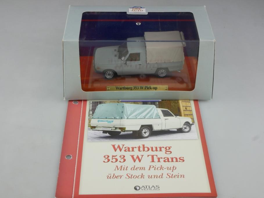 Atlas Ixo 1/43 Wartburg 353 W Trans Pick-up DDR 1983 mit Box 515825