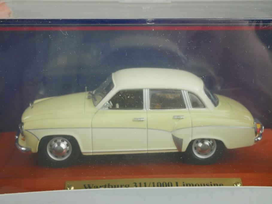 Wartburg 311 1000 Limousine Maßstab 1:43 von Atlas