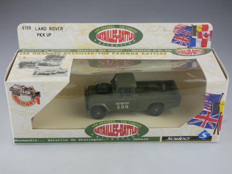 6130 Solido 1/43 Land Rover 109 LWB Military Pickup RAF S.D.N.mit Box 515843