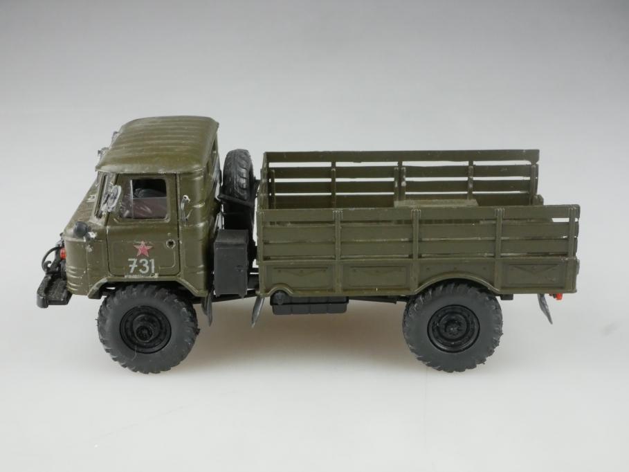 selten Novoexport 1/50 Gaz 66 Tiefpritsche Militär cccp USSR ohne Box 515844
