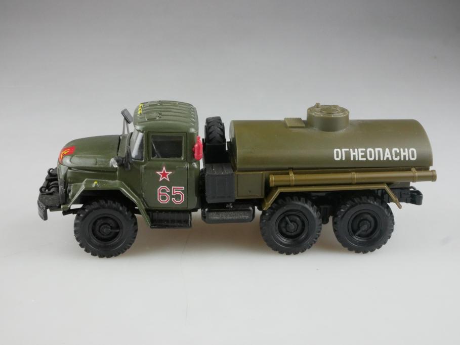 Elekon 1/50 Zil 131 6x6 Militär Tankwagen cccp USSR ohne Box 515851