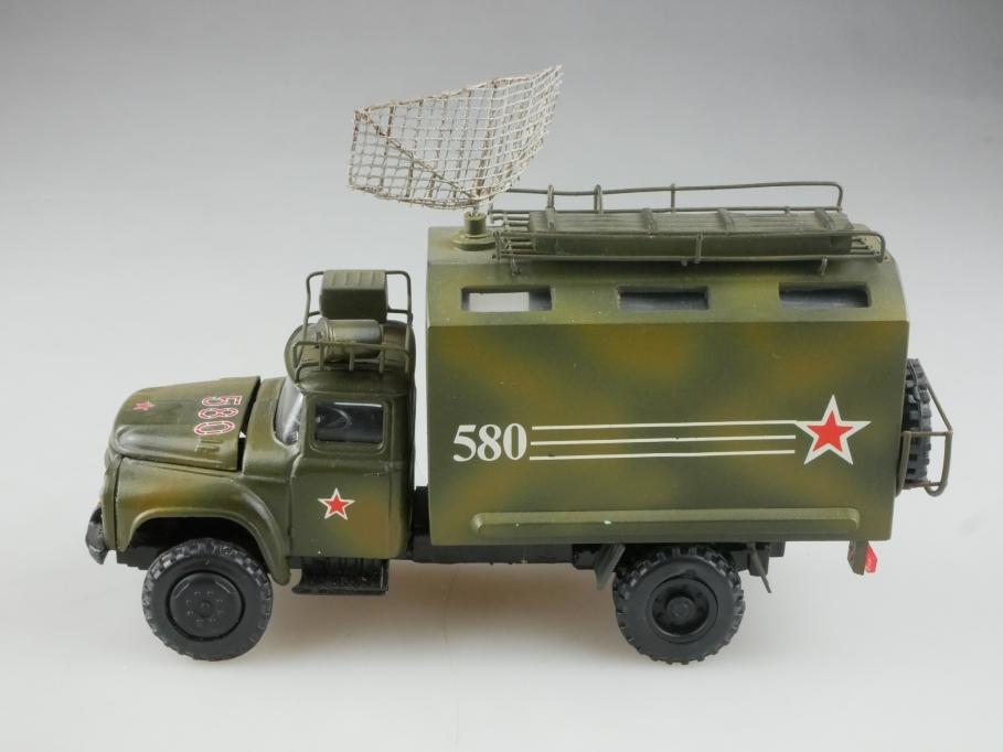 Novoexport 1/43 Zil 130 Einzelstück Militär Radar Radio Koffer cccp USSR  515853
