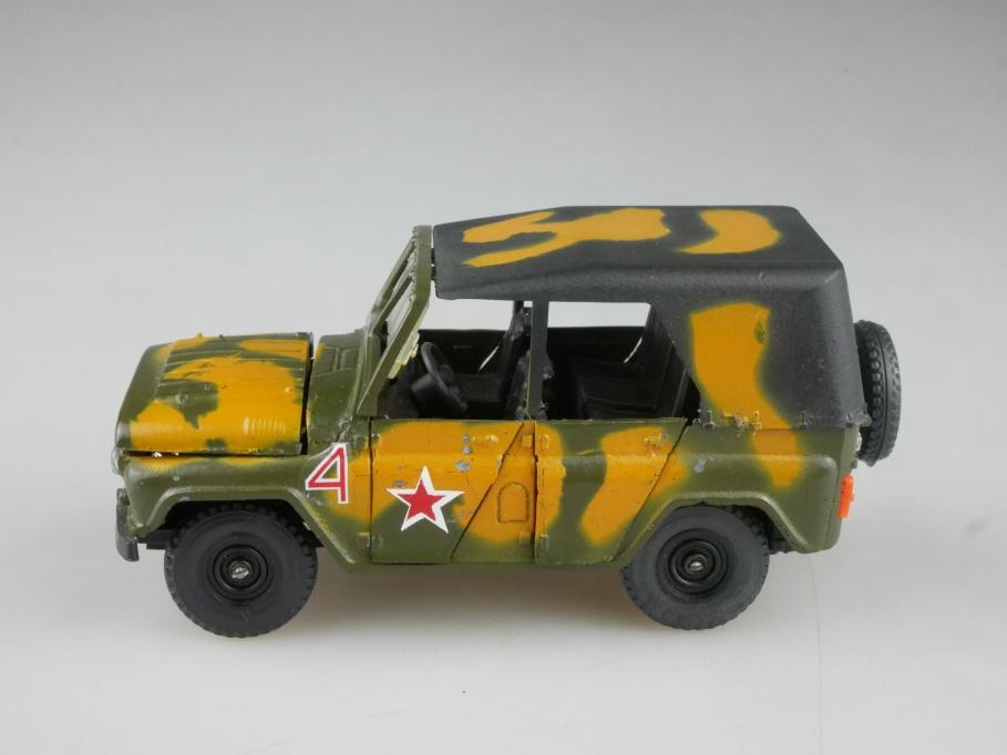 Novoexport 1/43 UAZ 469 A 34 Jeep DDR cccp USSR Bastler ohne Box 515926