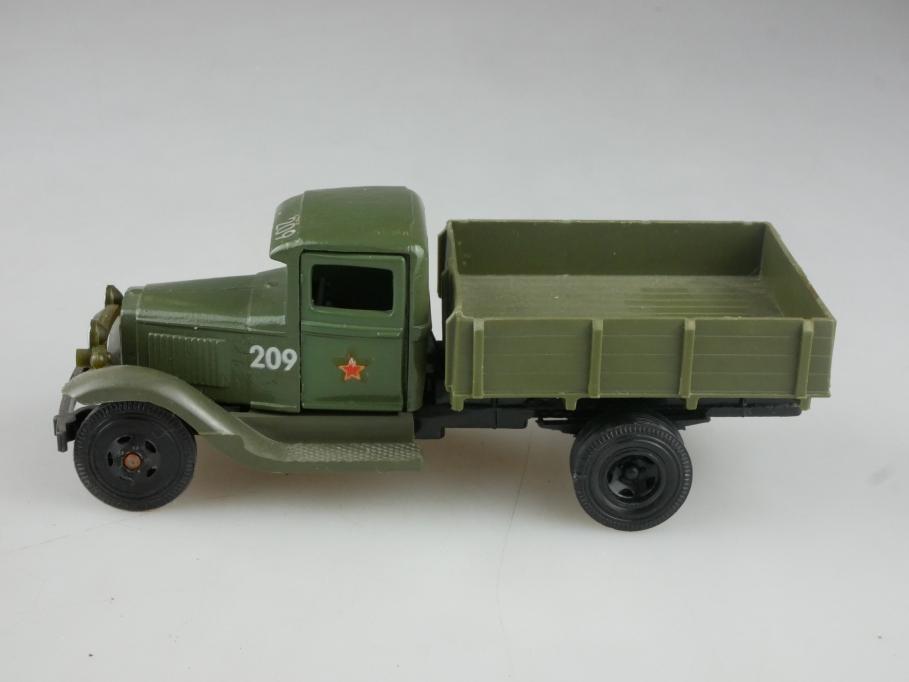 Novoexport 1/43 Gaz AA wie Ford Truck Militär DDR cccp USSR ohne Box 515928