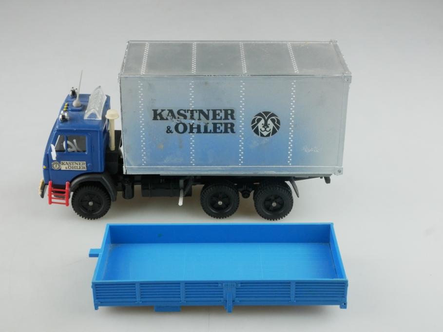 Novoexport 1/43 Elecon Kamaz 5320 Bastler Konvolut cccp USSR DDR ohne Box 515972