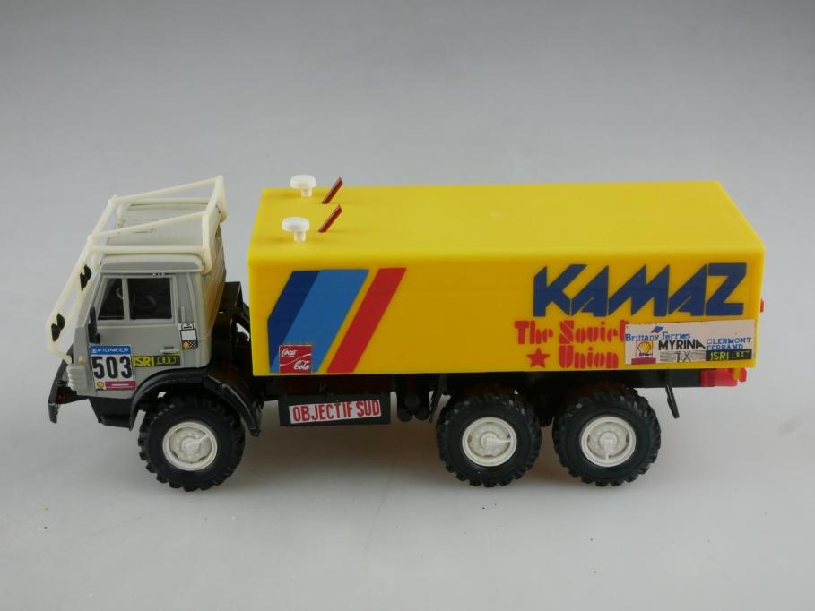 Apek 1/43 Elecon Kamaz 4310 Rally 6x6 Racing cccp USSR DDR ohne Box 515979