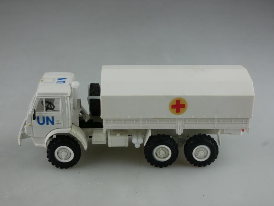 Apek 1/43 Elecon Kamaz 4310 UN Pritsche 6x6 cccp USSR DDR ohne Box 515980