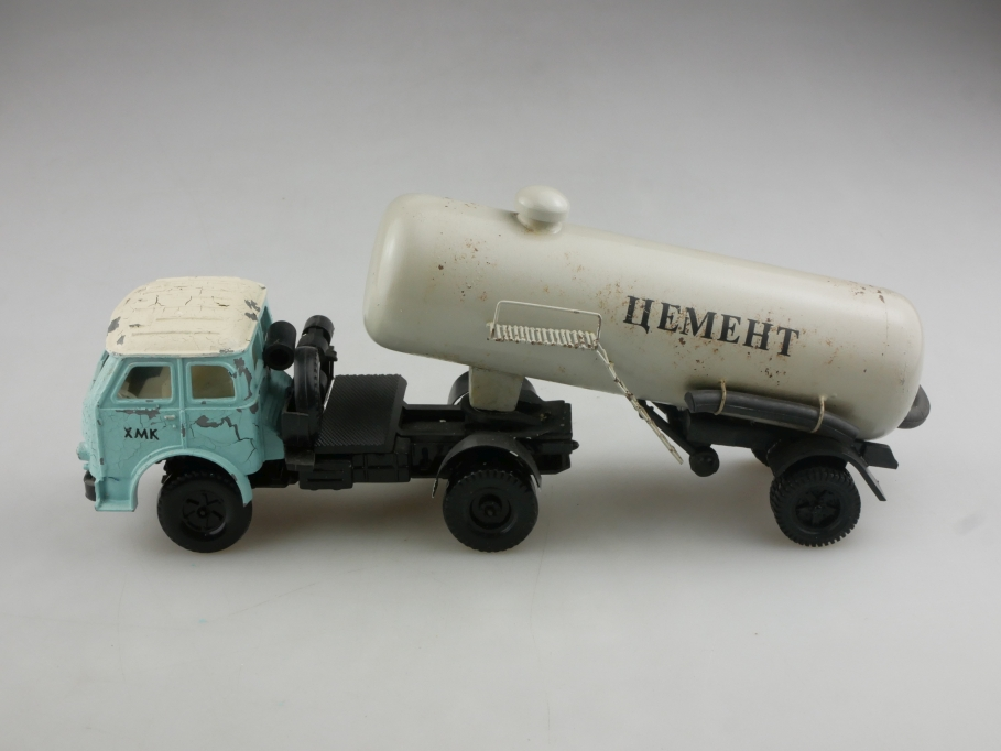 Novoexport 1/43 Maz 503 Zement Silo Transport cccp USSR DDR ohne Box 515982