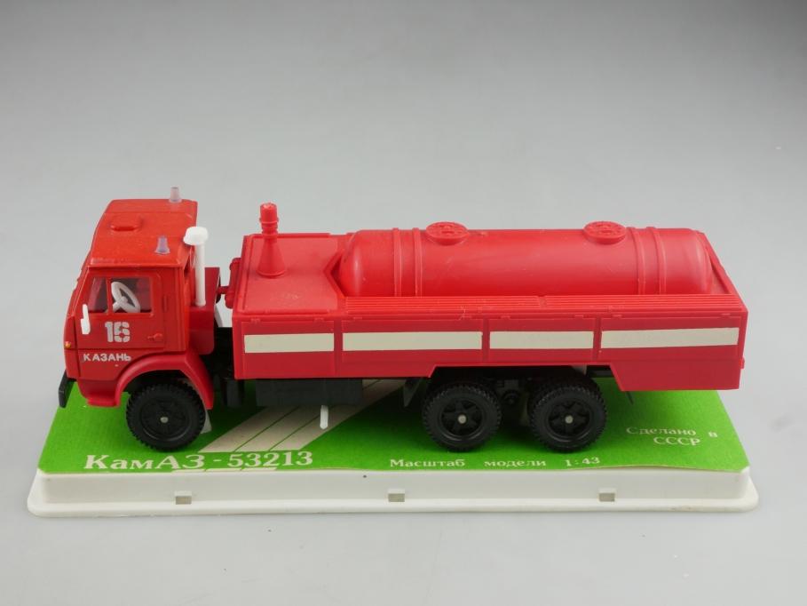 Apek 1/43 Kamaz 53213 Feuerwehr Löschtank cccp USSR DDR ohne Box 515986