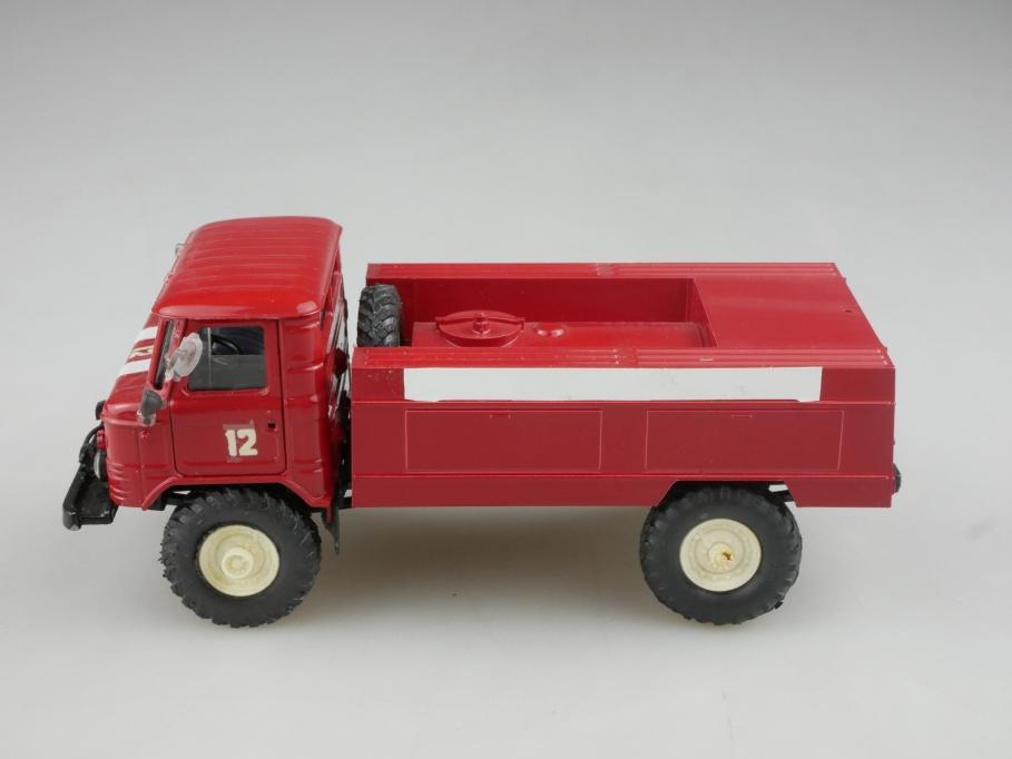 Apek 1/43 Novoexport Gaz 66 Feuerwehr Löschtank cccp USSR DDR ohne Box 515987