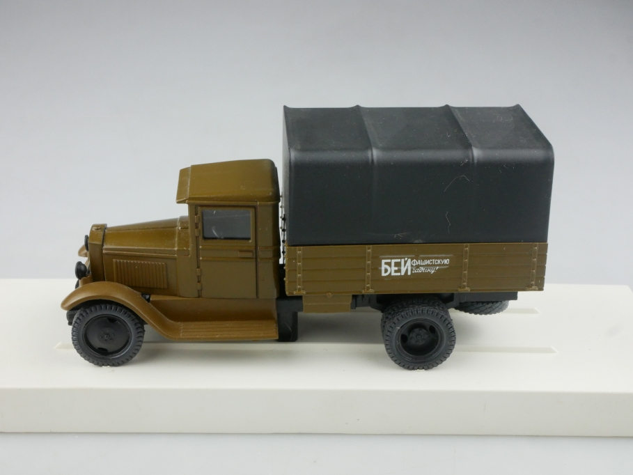 Novoexport 1/43 Amo Gaz Zis 5 Militär Pritsche 1934 cccp USSR DDR 515992