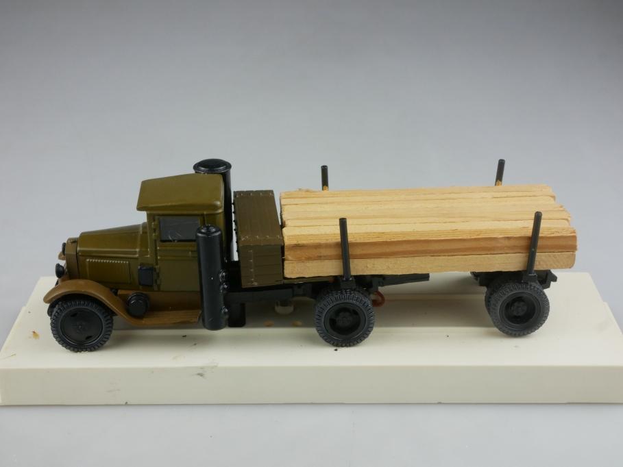 Novoexport 1/43 Amo Gaz Zis 5 Holzgas Transporter 1934 cccp USSR DDR 515993