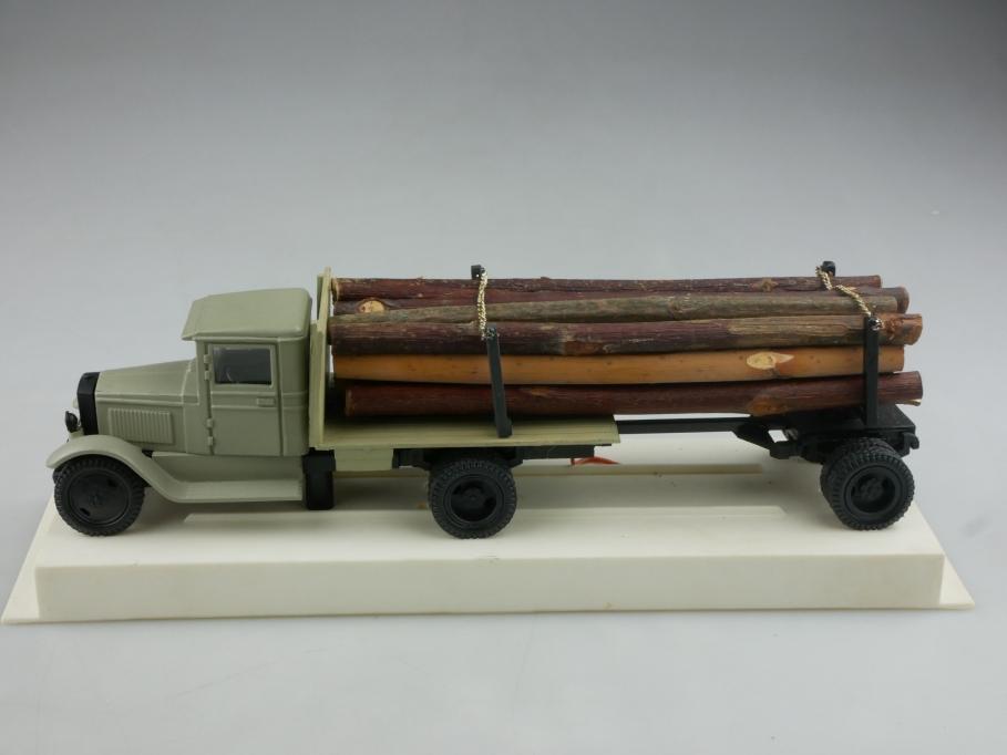 Novoexport 1/43 Amo Gaz Zis 5 Holz Transporter 1934 cccp USSR DDR 515994