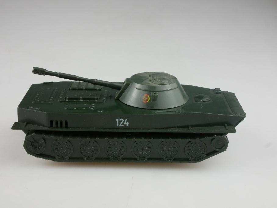 Pneumant ca.1/43 Plastik Schwimmpanzer PT 76S Tank Friktion cccp USSR DDR 516000