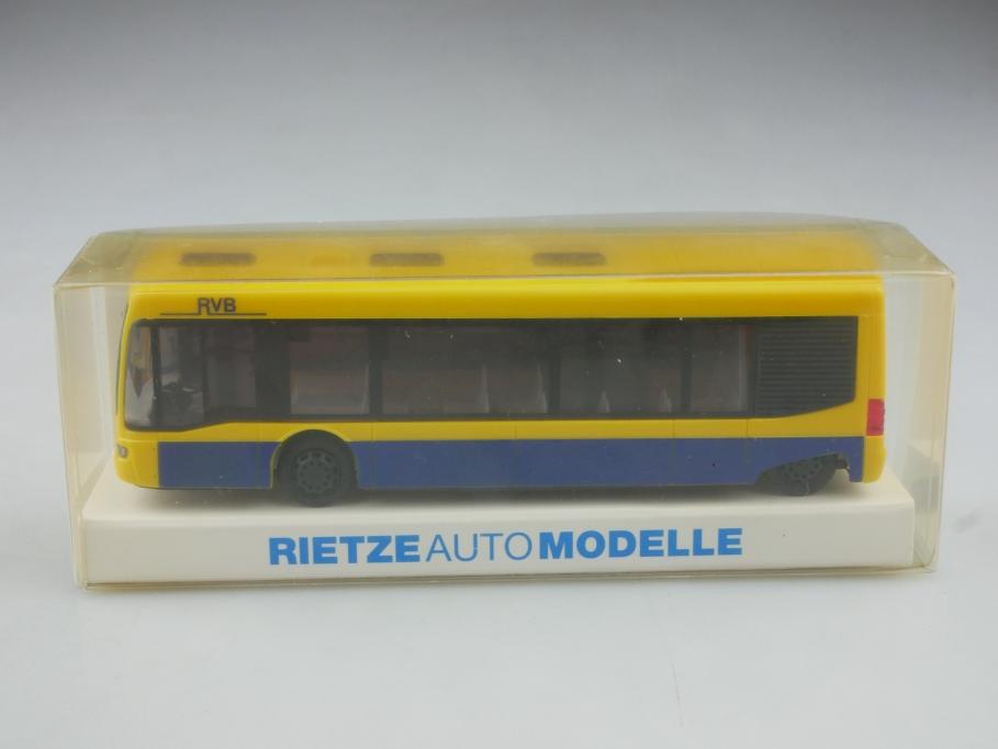 642752 Rietze 1/87 Mercedes Benz Cito Stadtbus RVB Regensburg mit Box 516002