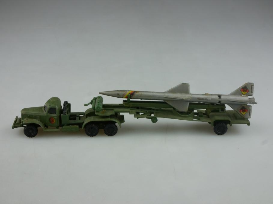Espewe 1/87 Zil 157 mit SA 2 Boden Luftrakete NVA DDR USSR cccp ohne Box 516048