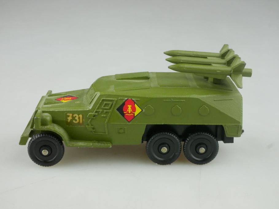 Novoexport 1/87 Zil 3 Achs Raketen Panzerwagen U1P20K NVA DDR USSR cccp 516053