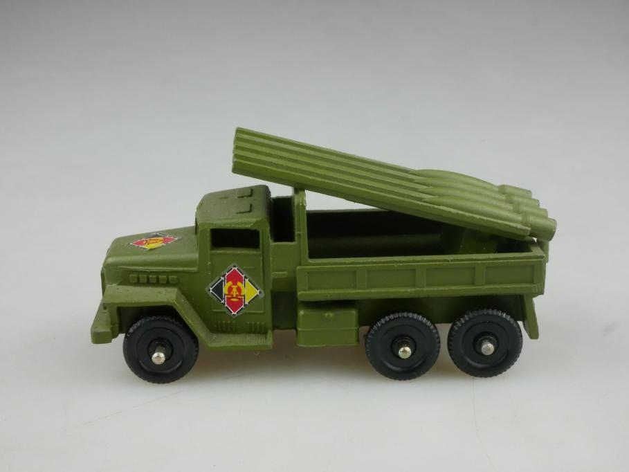 Novoexport 1/87 Zil Raketenwerfer Metall NVA DDR USSR cccp 516057