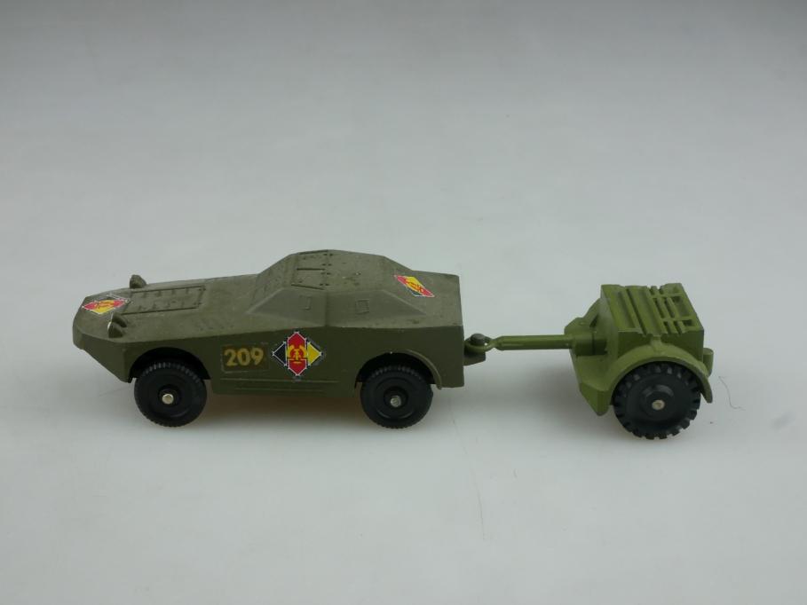 Novoexport 1/72 Z II Panzerwagen U 85 K Metall Anhänger NVA DDR USSR cccp 516060