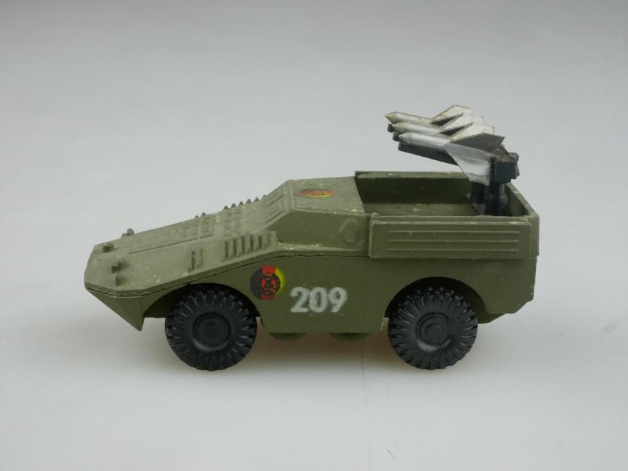 Espewe 1/87 Panzerspähwagen Raketenwefer SPW 40 Metall NVA DDR USSR cccp 516061