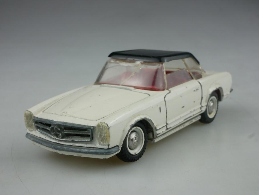 Tekno 1/43 Mercedes Benz 230 SL Pagode Hardtop Teileträger Bastler  516063