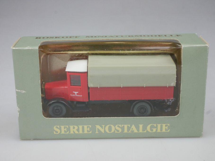 Roskopf H0 Mercedes Reichspost 1938 HA 2010 + Box 113050