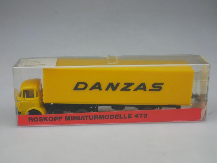 Roskopf H0 473 Danzas Berliet Sattelzug LKW Truck + Box 113051
