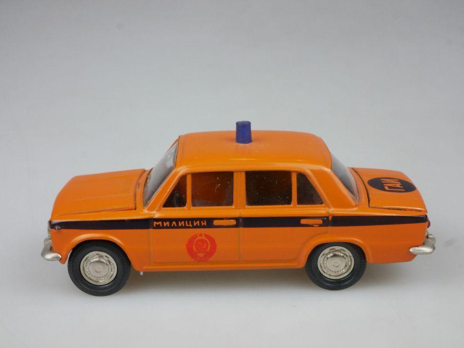 CCCP USSR Novoexport 1/43 Lada Vaz Gaz 2101 Polizei Miliz DDR 113329