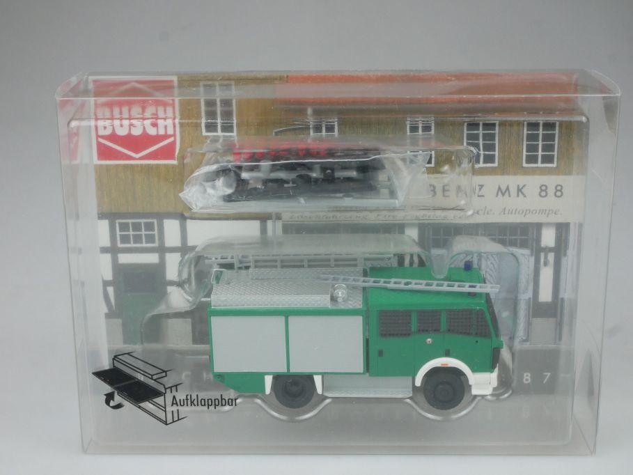 Busch H0 1/87 43856 Mercedes Benz MK 88 Bereitschafts Polizei + Box 113080