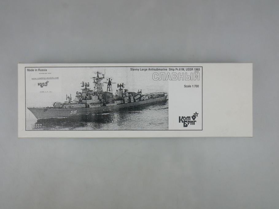 Kombrig 1/700 70337 Slavny Large Antisubmarine Pr.61M USSR ship Resin kit 113085