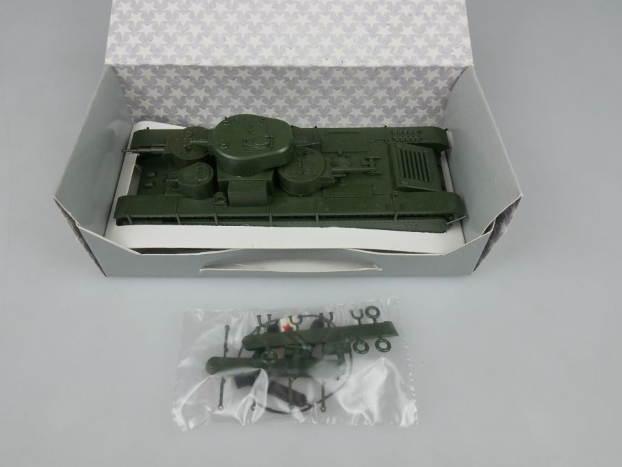 Premo Roco Minitanks 1/87 H0 1201 T-35 TU USSR tank Red Army + Box 113097