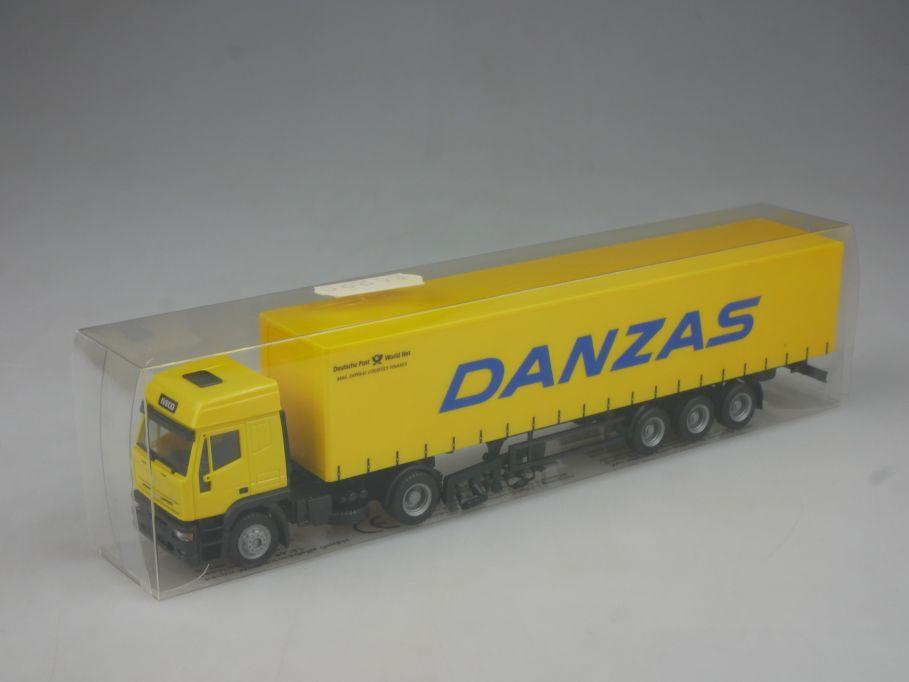 Herpa 1/87 H0 Danzas Deutsche Post aus Märklin Set IVECO Eurotech + Box 113109