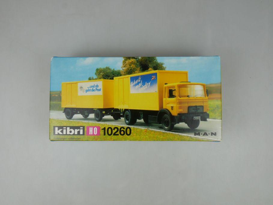 Kibri 1/87 H0 10260 MAN Post LKW mit Hänger post lorry trailer kit 113127