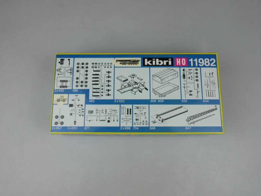 Kibri 1/87 H0 11982 LKW Ersatz- und Umbauteile Bausatz kit 113129