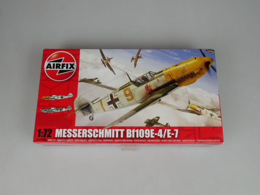 Airfix 1/72 Messerschmitt Bf109E-4 / E7 Modell Bausatz A02048A kit Box 113140