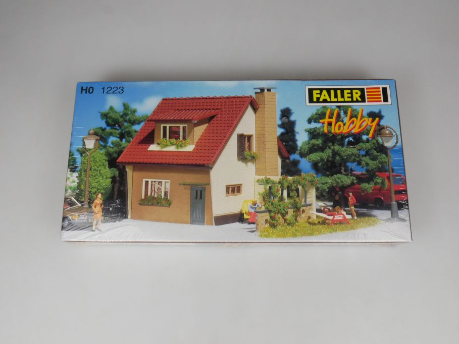 Faller H0 1223 Hobby Siedlerhaus Haus settler house kit sealed Box 113263