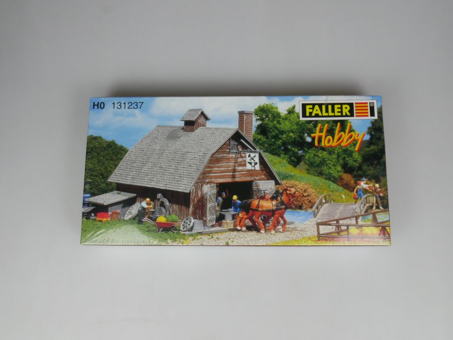 Faller H0 131237 Hobby Dorfschmiede vilage smithy Haus kit sealed Box 113264