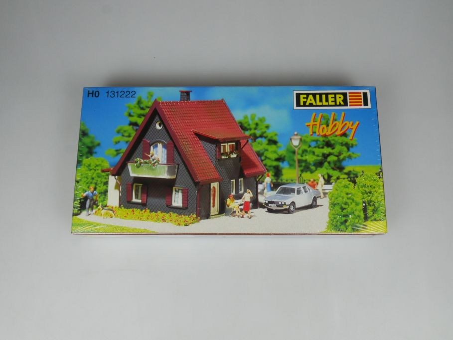 Faller H0 131222 oberbergisches Schieferhaus slate house kit sealed Box 113265