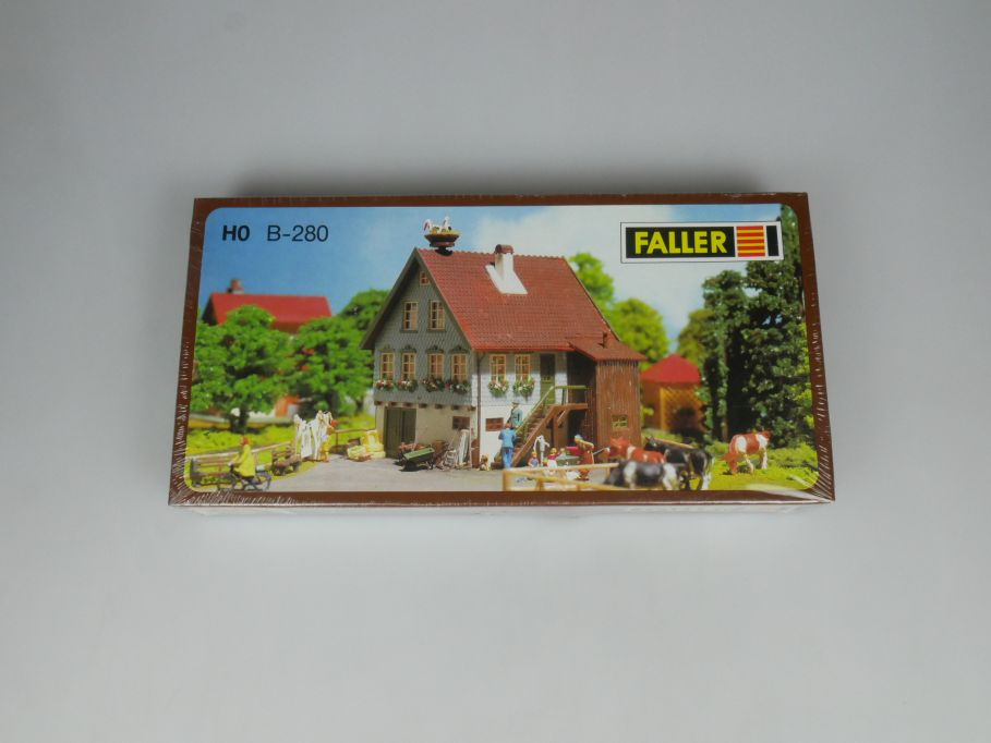 Faller H0 B-280 Haus mit Storchennest house stork´s nest kit sealed Box 113266