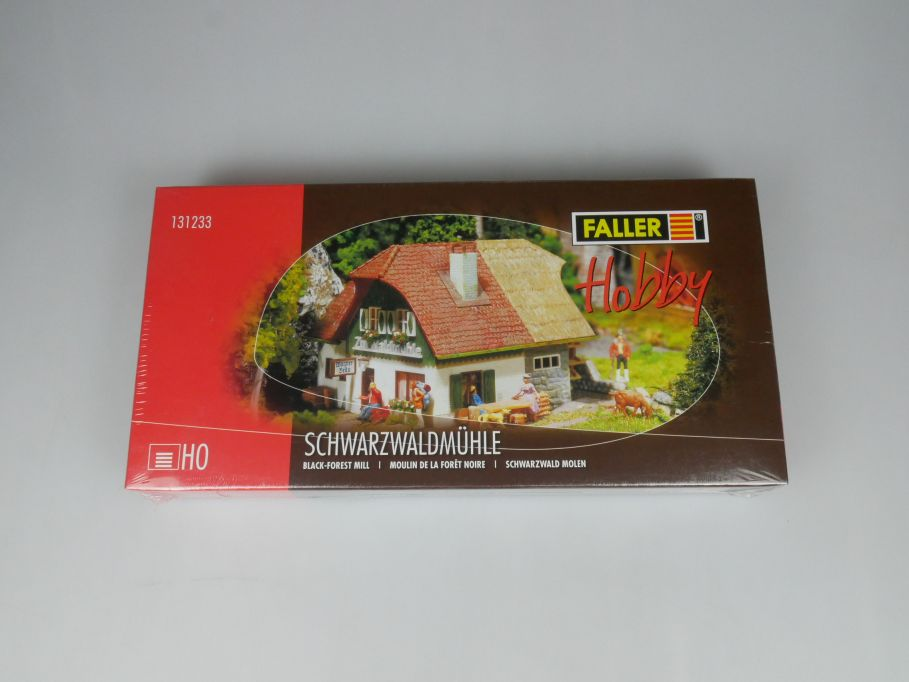 Faller H0 131233 Schwarzwaldmühle black forest mill Haus kit sealed Box 113267