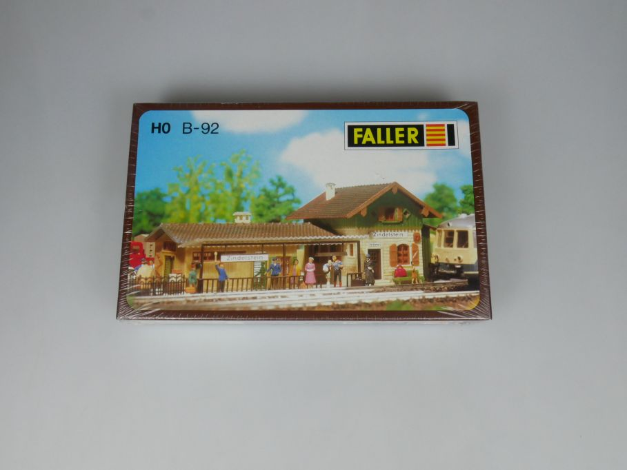 Faller H0 B-92 Zug Station Zindelstein country station kit sealed Box 113268