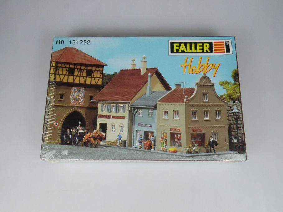 Faller H0 131292 3 Kleinstadthäuser town houses Haus kit sealed Box 113269