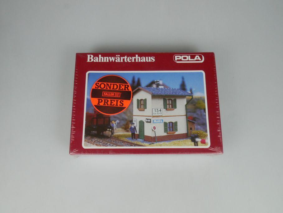 POLA H0 519 Bahnwärterhaus Haus sealed kit Bausatz Box 113270