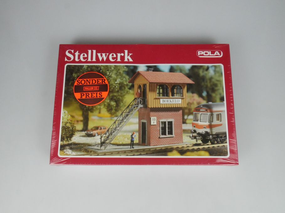 POLA H0 560 Stellwerk kit Bausatz sealed Box 113271