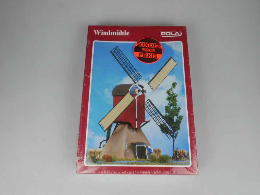 POLA H0 700 Windmühle kit Bausatz sealed Box 113272